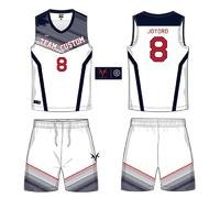 OEM custom sublimation printing blank basketball jerseys 6JT29195